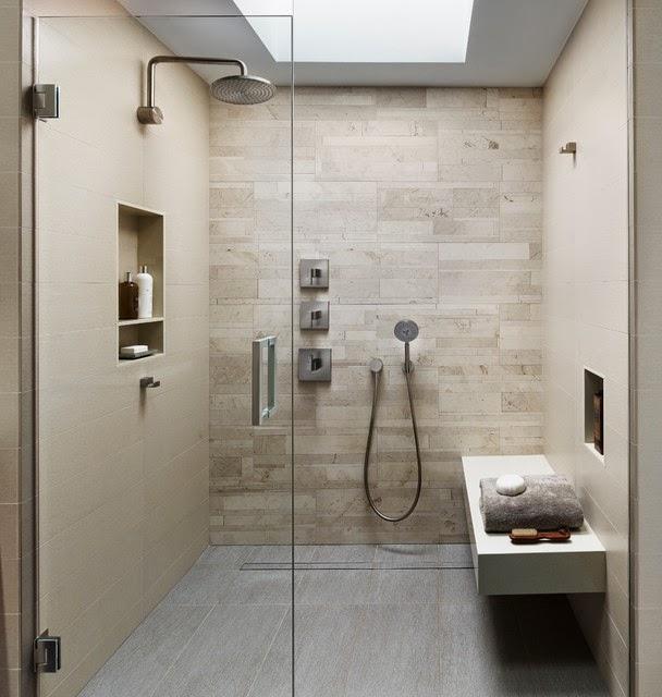 Hogares frescos 20 fascinantes ideas de dise o en duchas for Fotos de duchas
