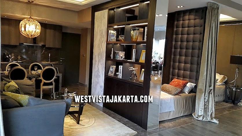Show Unit 2 BR Apartemen West Vista Jakarta Barat