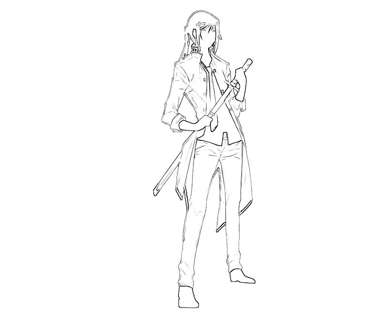 printable-kuroh-yatogami-katana-coloring-pages