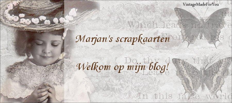 Marjan's scrapkaarten
