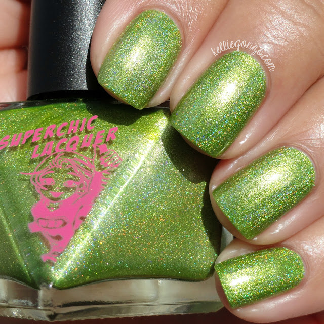 SuperChic Lacquer Live Wire High Voltage