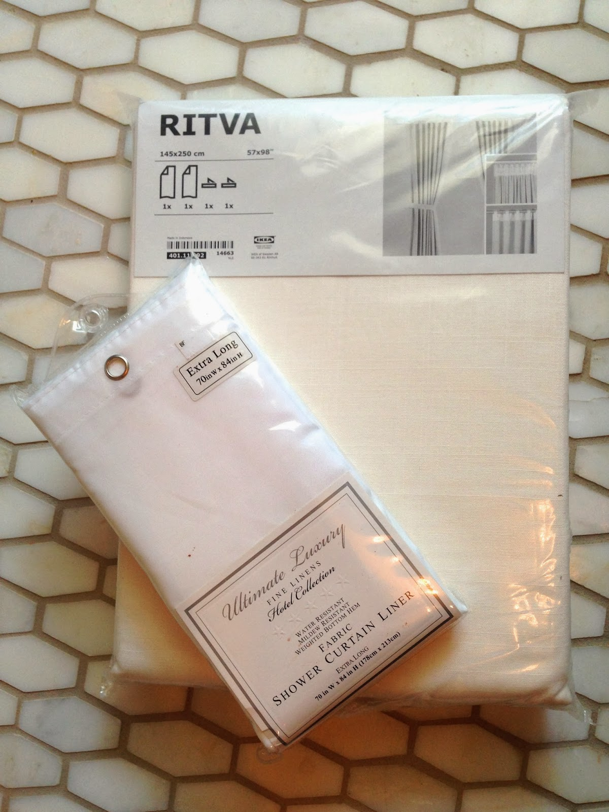 pair of ikea ritva panels (a favorite of mine. i recommend them ALL ...