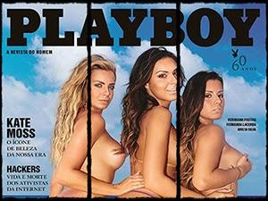 As Belas Da Praia Nuas Na Playboy