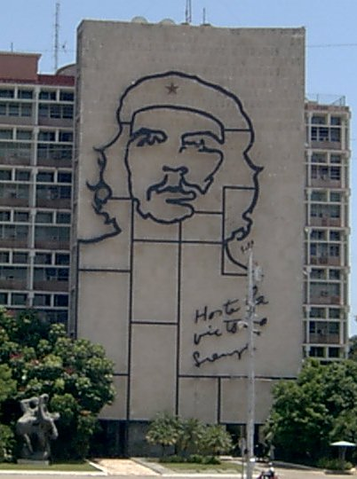 El ocio del pueblo ch guevara ernesto iii escultura for Direccion ministerio del interior bogota