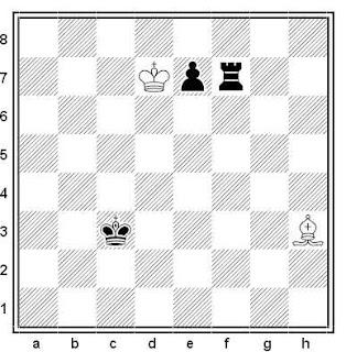 Problema ejercicio de ajedrez número 714: Estudio de G.A. Nadareishvili (1974)