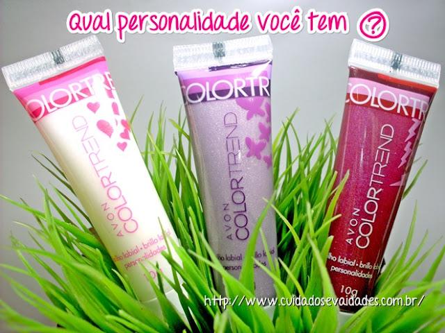 Avon Color Trend Brilho Labial Personalidades