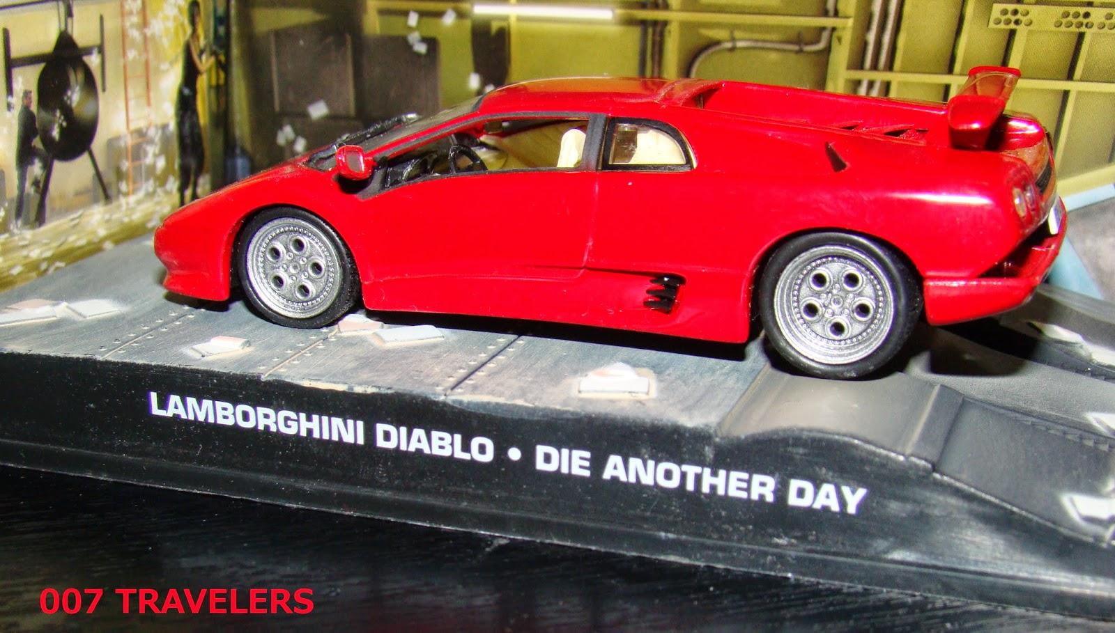 007 Travelers 007 Vehicle Lamborghini Diablo Die Another Day 2002