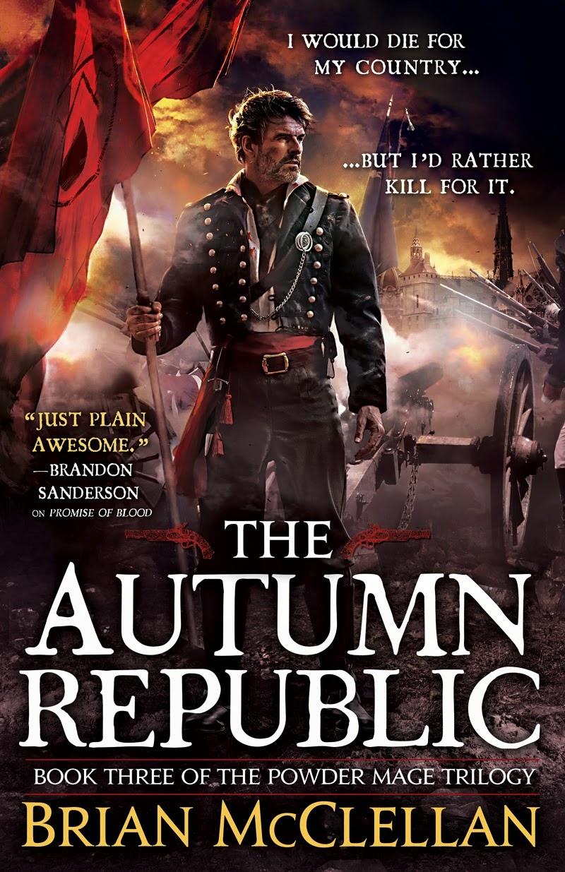 Brian McClellan: Five Things I Learned Writing Autumn Republic