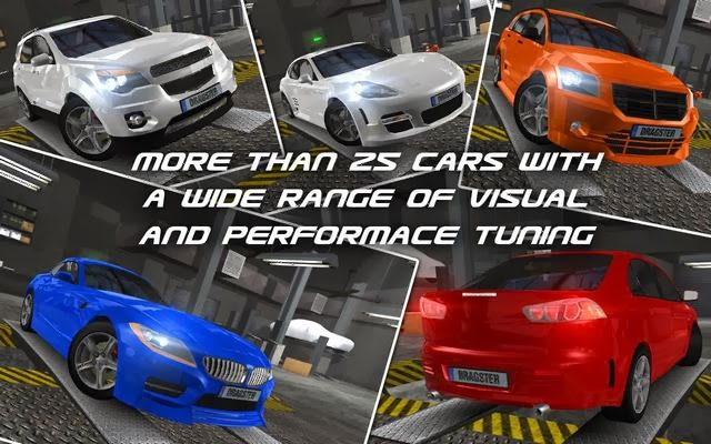 Drag Racing 3D App Screenshoot