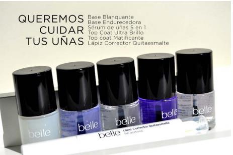 Colección cuidado de uñas de belle&MAKE-UP