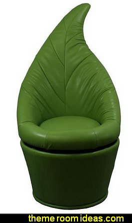Green Leaf Swivel Chair