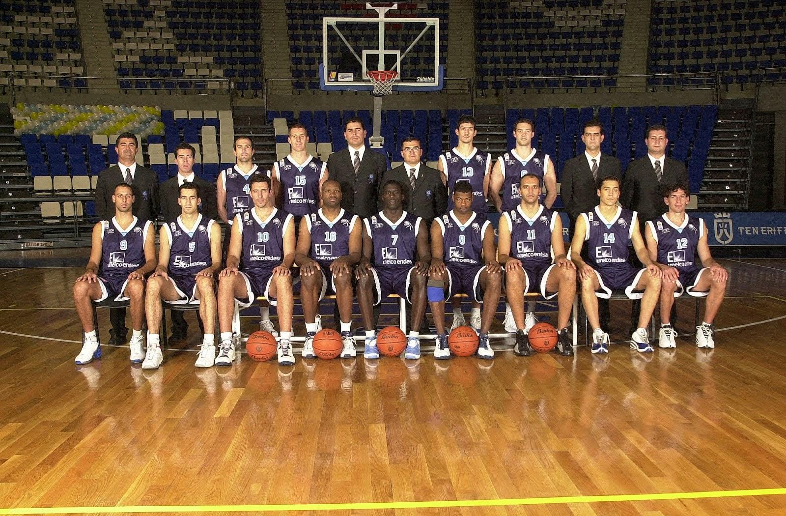 C.B. TENERIFE 2002-2003. Liga LEB