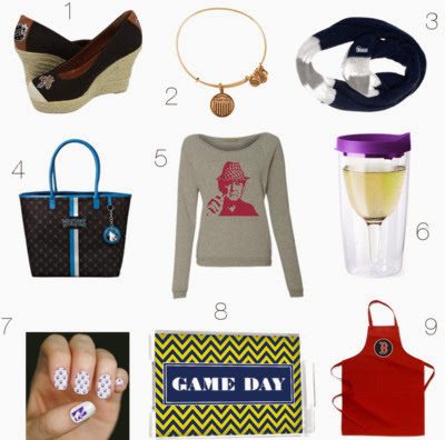 The Style Ref's 2013 Holiday Gift Guide for Women Sports Fans