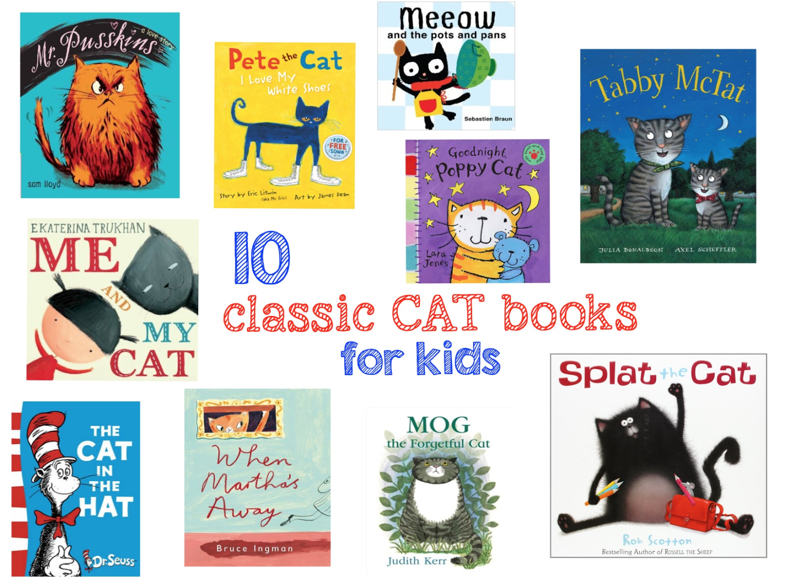 mamasVIB | V. I. BOOKCLUB: We ❤ Cats - and our 10 purr-fect cat books for bedtime