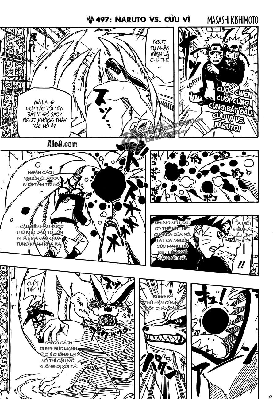Naruto chap 497 Trang 2 - Mangak.info