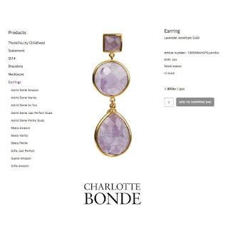 CHARLOTTE BONDE Earrings