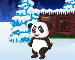 Juegos de Escape Panda Christmas Escape