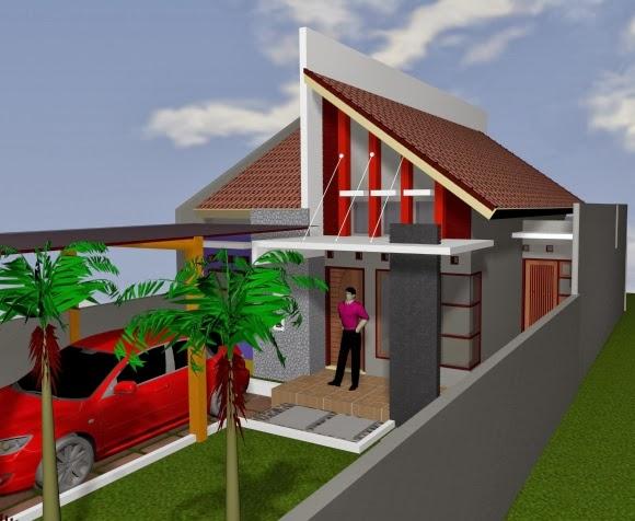 desain model rumah minimalis type 60 tahun 2014 rumah
