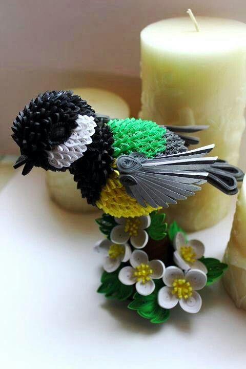 Quilling Birds Patterns Origami Instructions Art And Craft Ideas