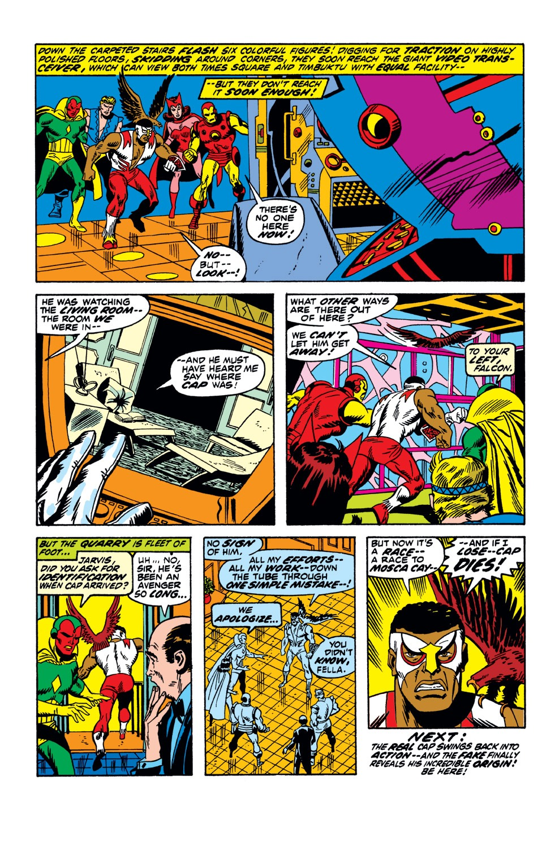 Captain America (1968) Issue #154 #68 - English 21