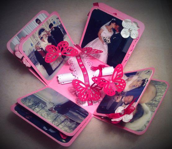 Розовые подарки на свадьбу 73