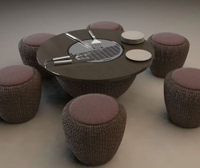 Modern and Innovative Integrated Dining Tables (15) 9