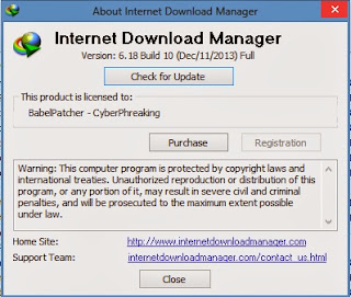 Free Download IDM 6.18 Build 10 Terbaru Full Version