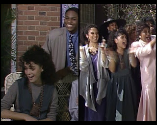 Cosby Show Huxtable fashion blog 80s sitcom Lisa Bonet Denise