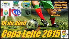Tabela  Copa Leite 2015