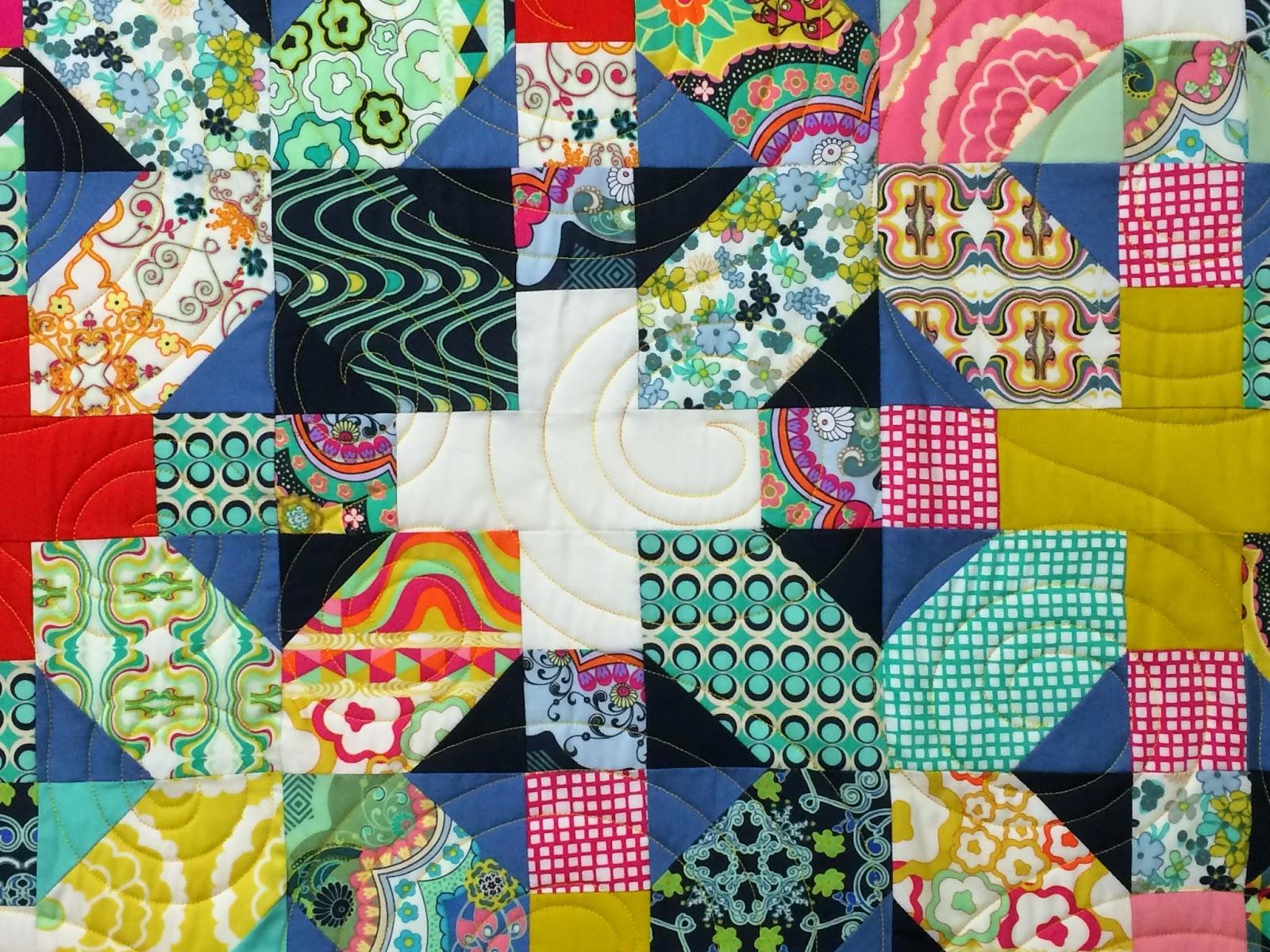 Jill Seward Union Jack/UK Flag Quilt