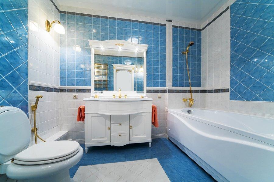 10 meilleurs sch mas de couleur pour salle de bain d cor - Salle de bain couleur bleu ...