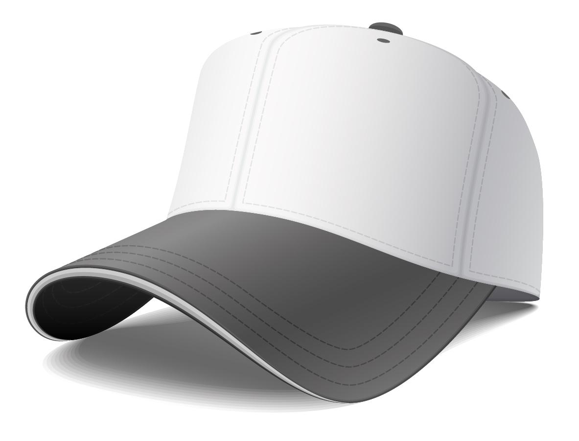 野球帽のデザイン テンプレート Free Design baseball cap vector イラスト素材