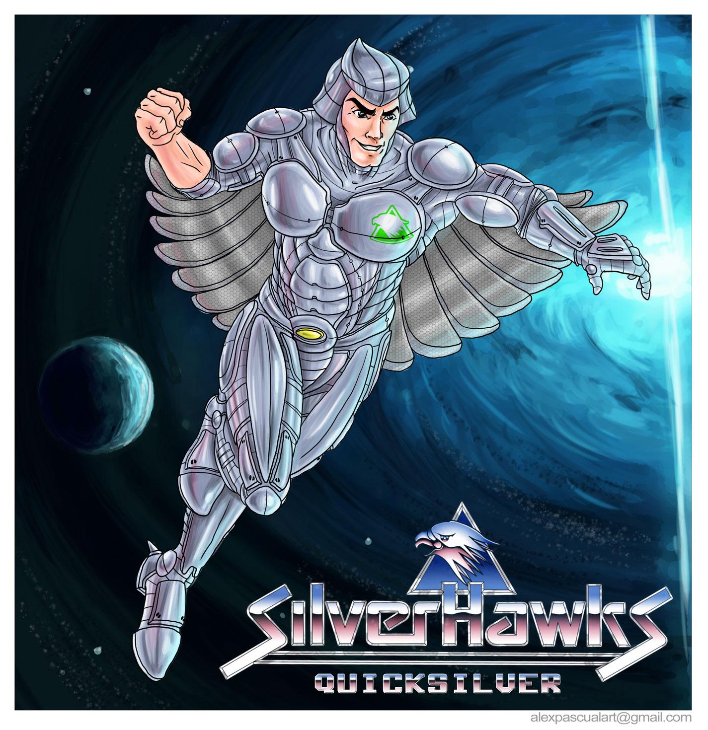 Silverhawks Quicksilver alexpascualart:...