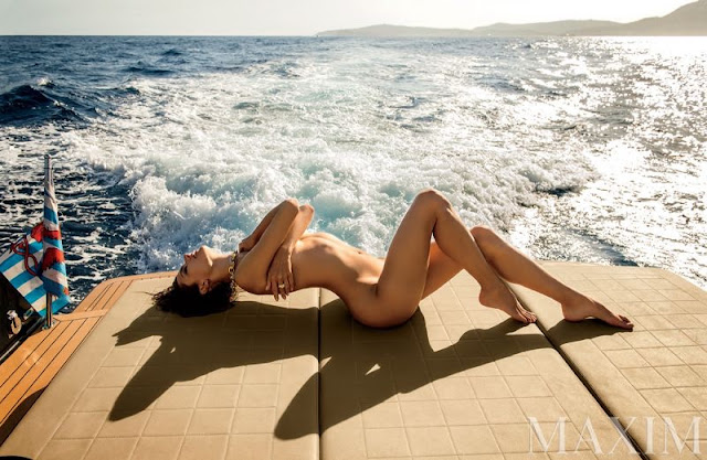 Alessandra Ambrosio goes naked for Maxim