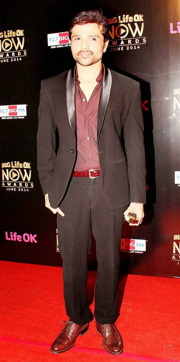 Himesh Reshammiya At Life Ok Now Awards 2014