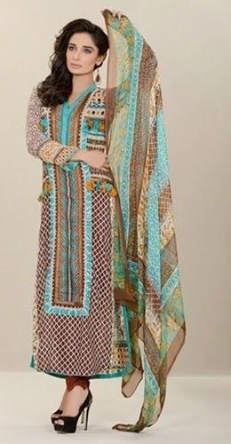 Firdous - Chiffon Lawn for Eid 2014