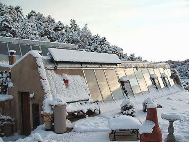 10 reasons why earthships are awesome - warmth & shelter