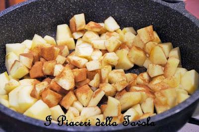 charlotte di mele e pandoro