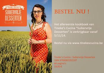 """Kookboek """"Suikervrije Desserten"""""""
