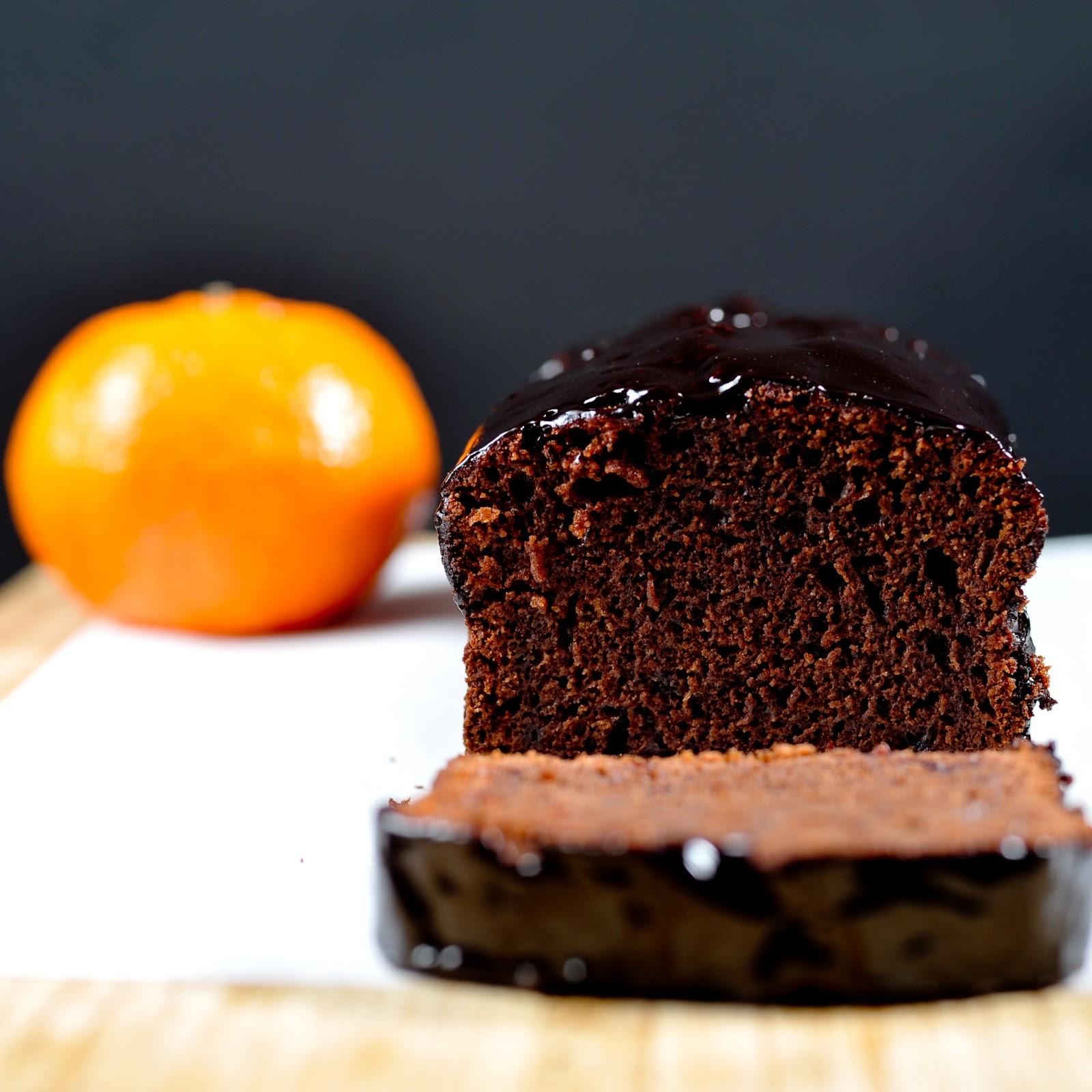 Ciasto czekoladowe z konfiturą pomarańczową