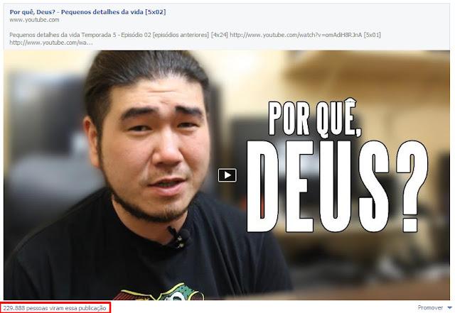 Anúncio do Facebook.