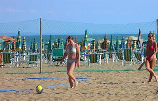 aktivity na pláži
