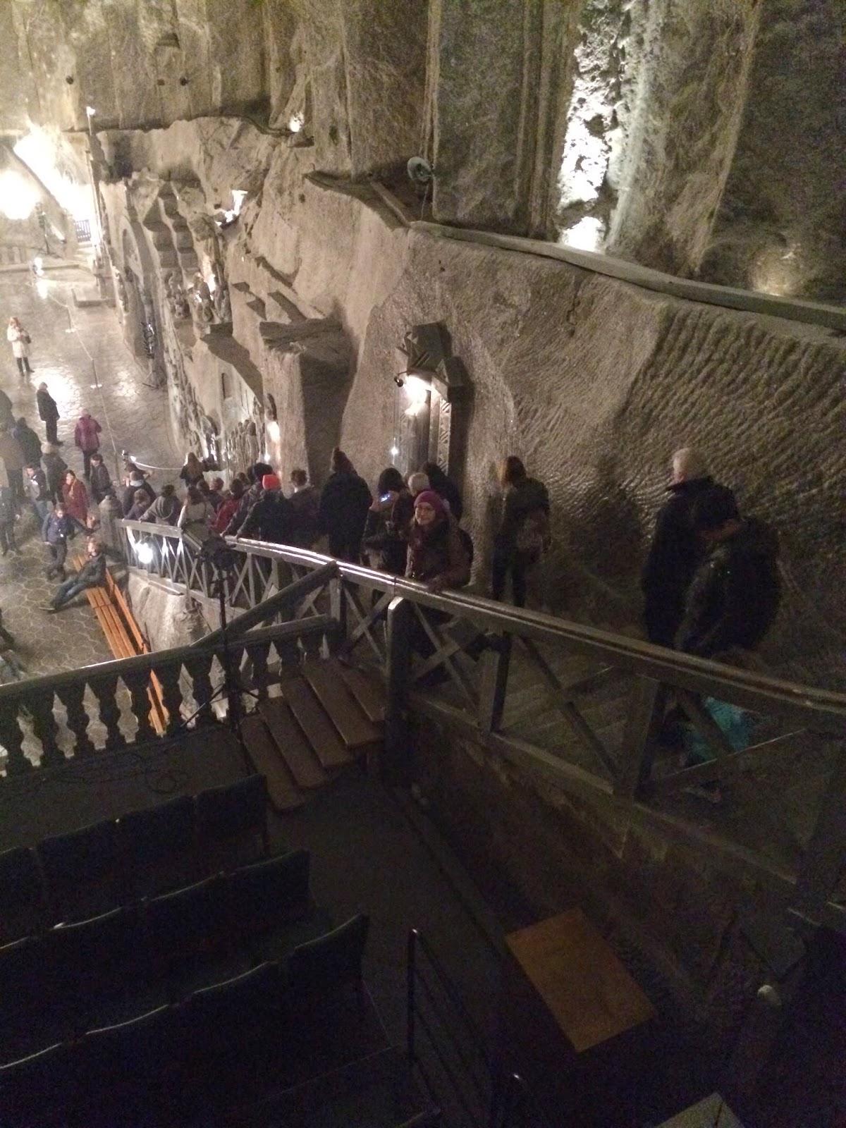 соляная шахта Величка под Краковом