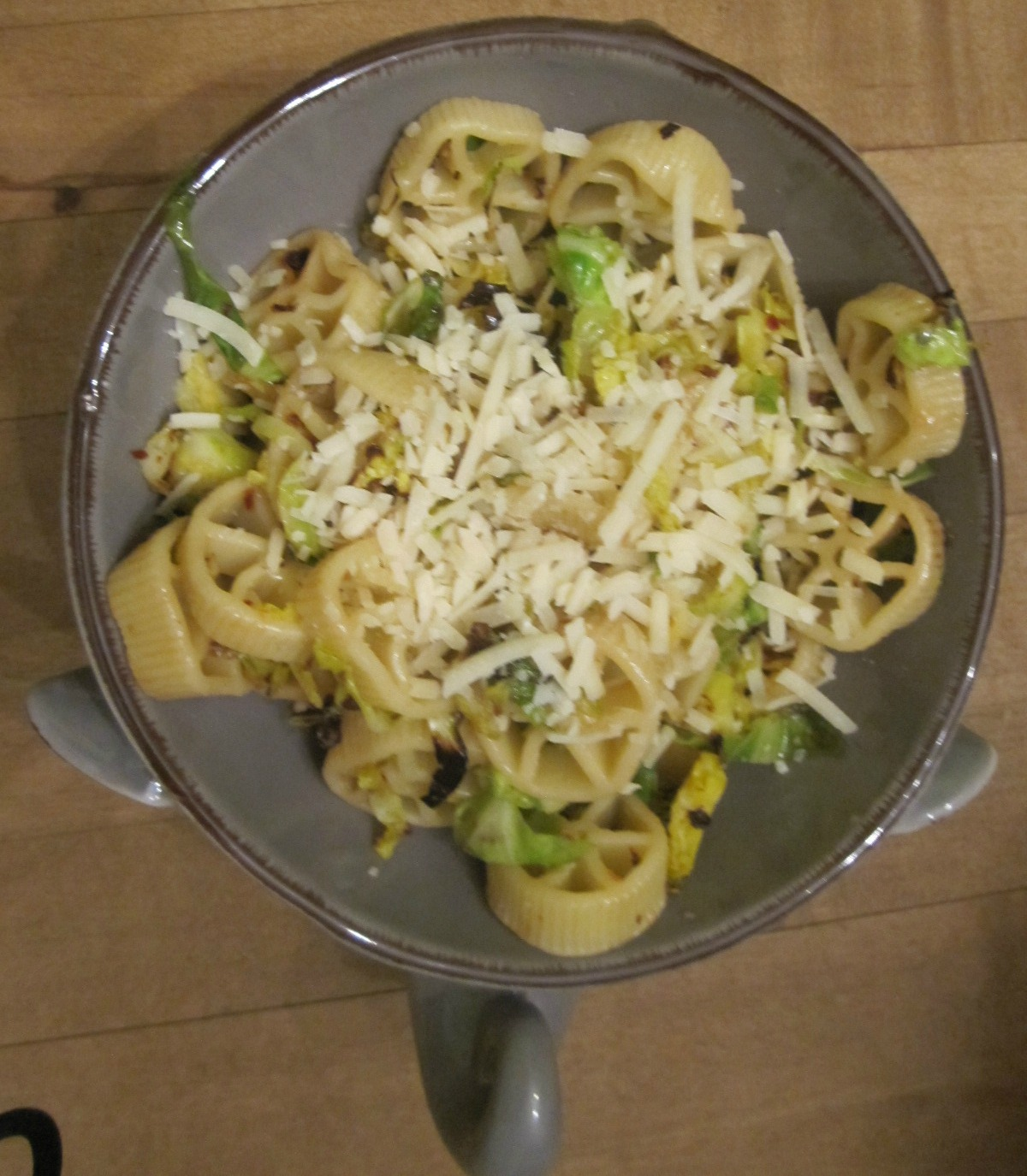 ... Your Craft: Craft Your Inner Chef: Pasta with Lemon Brussels Sprouts