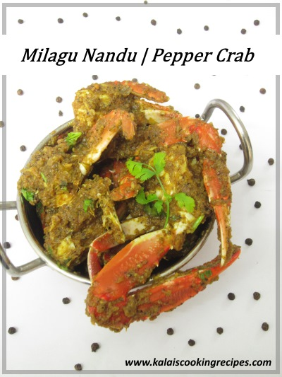 milagu nandu pepper crab