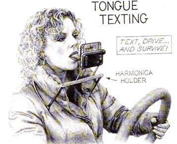 Tongue Texting - Seems Legit
