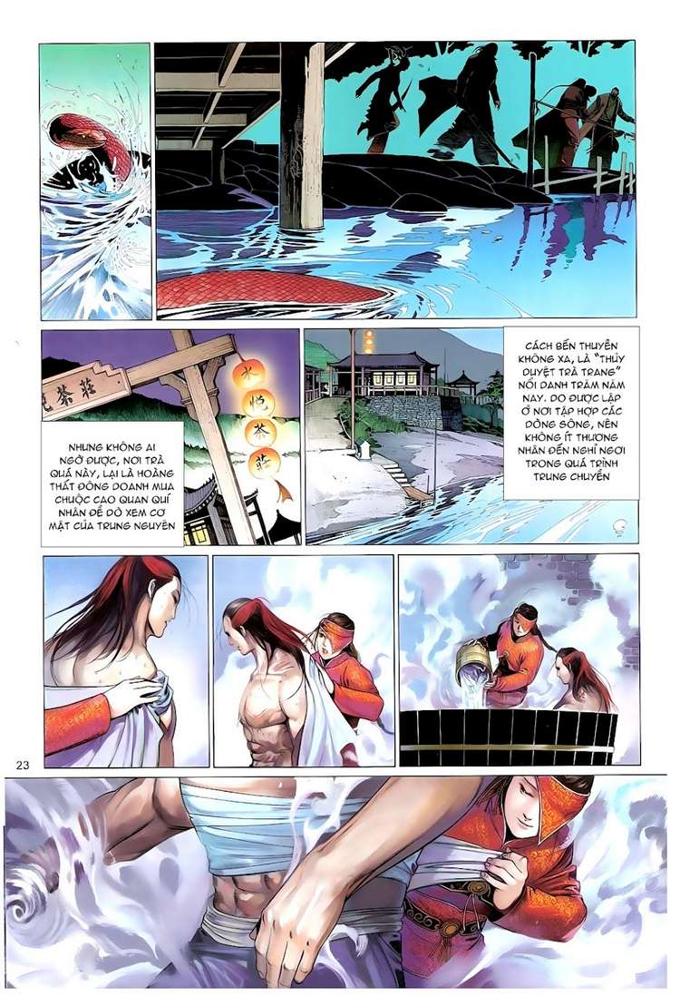 Phong Vân chap 628 Trang 23 - Mangak.info