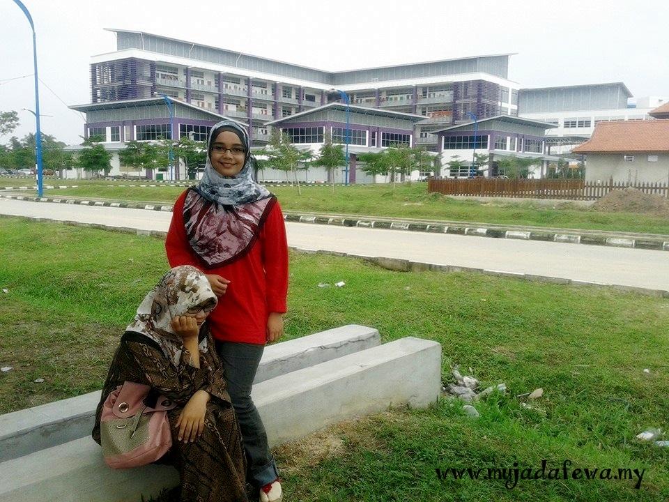 universiti malaysia kelanta, hantar adik