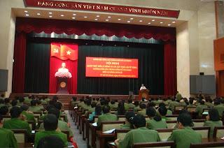 Hội nghị quán triệt Điều lệ Đảng của Đảng ủy Công an TP. Hồ Chí Minh