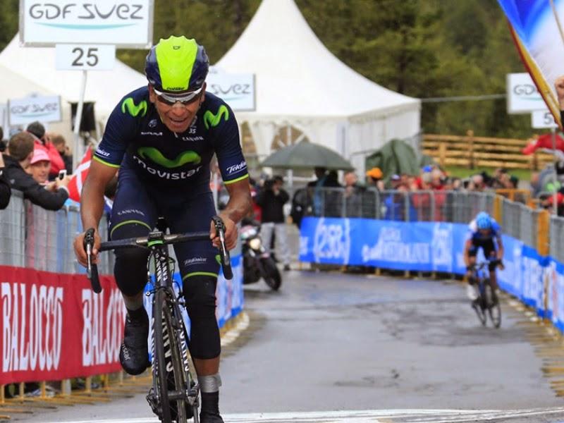 Nairo Quintana gana y se pone líder